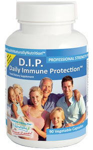 D.I.P. Daily Immune Protection™ 90 Caps with Vitamin D3 (Cholecalciferol)