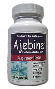 Ajebine™ Capsules For Asthma and Hayfever
