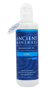 Ancient Minerals – Professional Strength – Magnesium Oil Ultra 8oz Spray