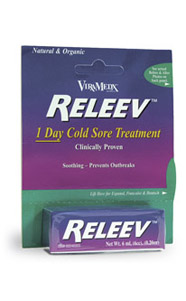 Releev™ – 1 Day Cold Sore Treatment